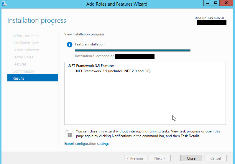 SQL SERVER - Error While Enabling Windows Feature: NetFx3, Error Code: 2146498298 netfx3-07