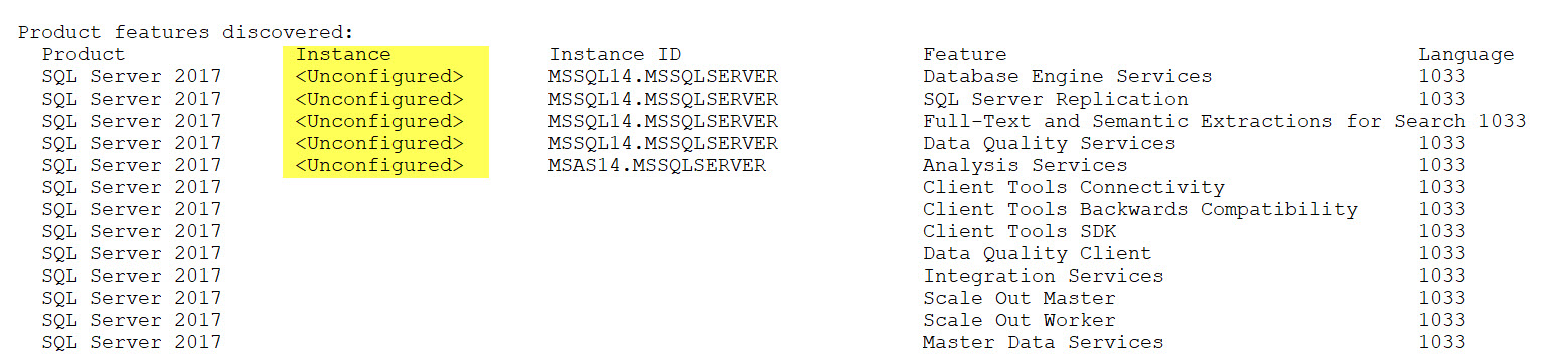 SQL SERVER - Unable to Uninstall - Index was Outside the Bounds of the Array out-of-bound-01