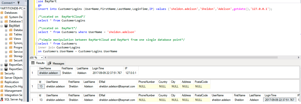 SQL SERVER - How to Reach Out to Cloud - Cloud Computing with PartitionDB partitiondb3