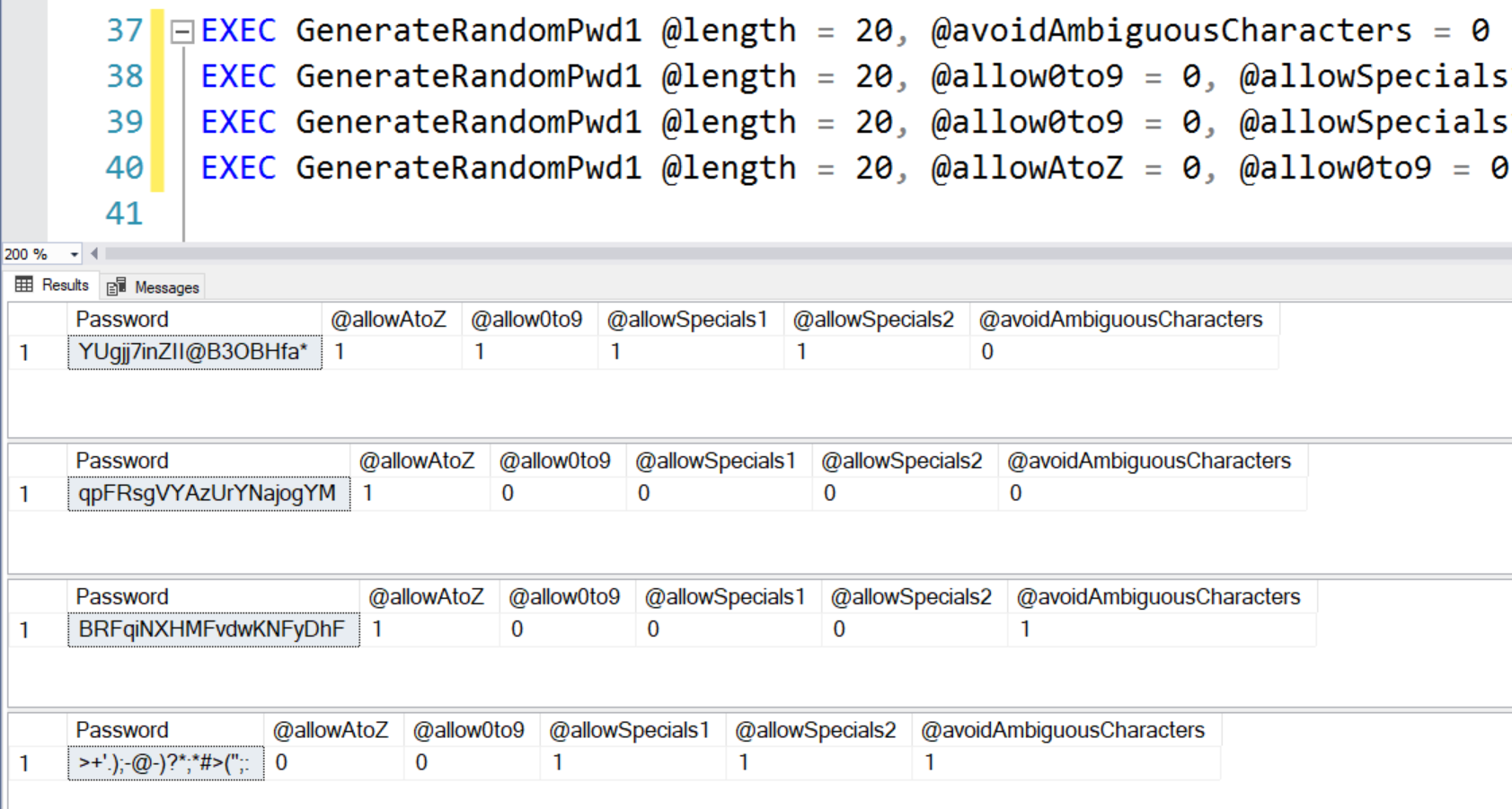 SQL SERVER - How to Generate Random Password? - Enhanced Version randompass