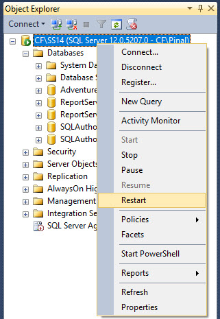 SQL SERVER - Configure Stored Procedure to Run at Server Startup - Simple Tutorial serverstartup