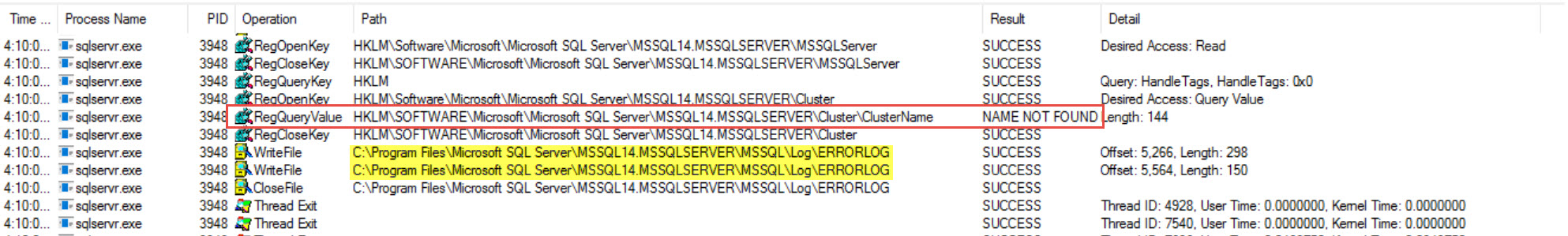 SQL SERVER - Unable to Start SQL Service Error: 17172 - SNIInitialize() Failed with Error 0x2 sni-err02-03