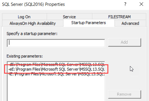 SQL SERVER - Unable to recycle Errorlog - sp_cycle_errorlog - OS  error 1392 sp_cycle-err-02