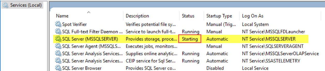 SQL SERVER - What is Change Pending State of in SQL Server Configuration Manager? sql-change-pending-02