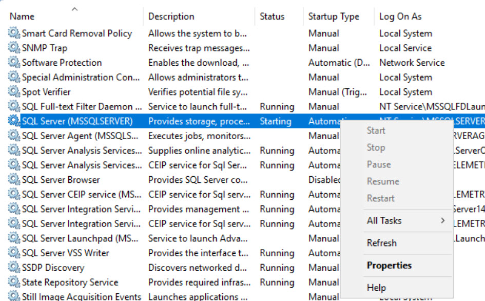 SQL SERVER - What is Change Pending State of in SQL Server Configuration Manager? sql-change-pending-03