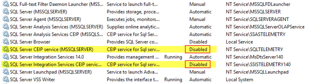 SQL SERVER - Unable to Repair - SQL_Telemetry_Repair_Startup_Cpu64 gives error - The Service Cannot Be Started sql-repair-02