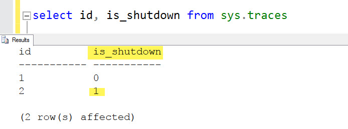 SQL SERVER - Error: 566, Severity: 21 - An Error Occurred While Writing an Audit Trace. SQL Server is Shutting Down sql-shutdown-01