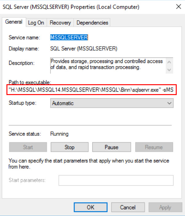 SQL SERVER - SQL Service Not Starting in Cluster- The System Cannot Find the File Specified sql-startup-err02-02