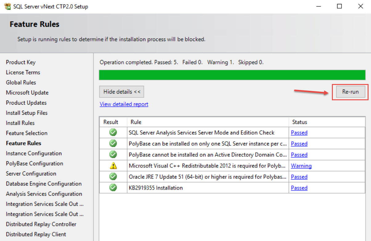 SQL SERVER 2019 - Oracle JRE 7 Update 51 (64 Bit) or Higher is Required sql19-jre-05