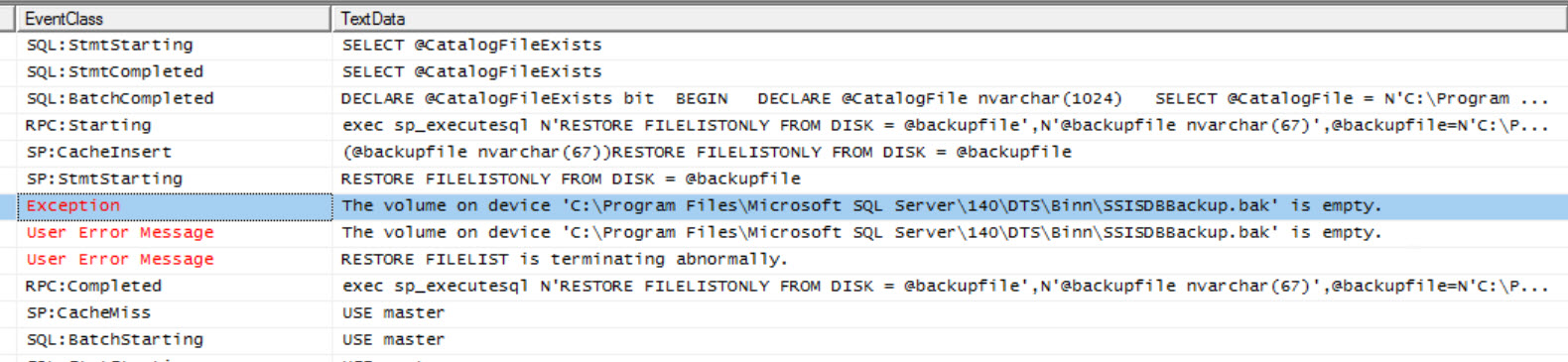 SQL SERVER - Create Catalog Error 911: Database 'SSISDB' Does Not Exist. Make Sure That he name is entered correctly ssis-cat-04