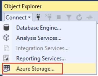 SQL SERVER - SQL Server Management Studio Crash While Using Backup to URL or Connecting to Storage ssms-crash-url-02