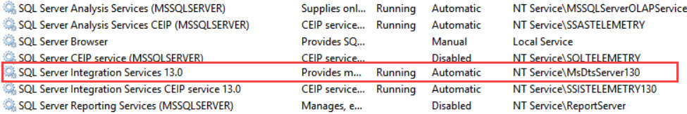 SQL Server Management Studio (SSMS) - Unable to Connect to SSIS - The Specified Service Does Not Exist as an Installed Service ssms17-ssis-02