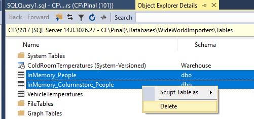 SQL SERVER - How to DELETE Multiple Table Together Via SQL Server Management Studio (SSMS)? ssmsdelete2