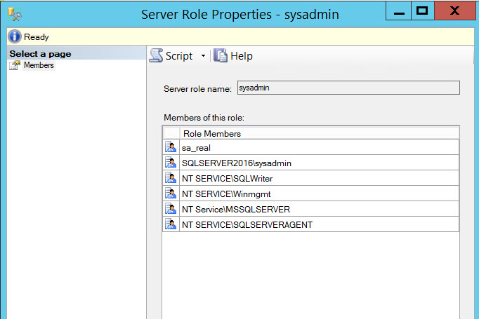 SQL SERVER - Query to Get the List of Logins Having System Admin (sysadmin) Permission who-sysadmin-02