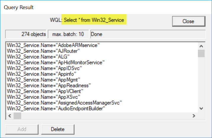 SQL SERVER - WMI Error 0x80041017 - Invalid Query Using WBEMTest wmi-invalid-query-02