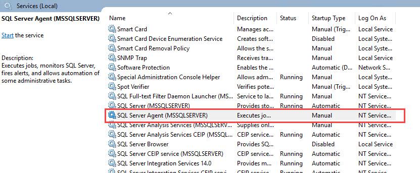 SQL SERVER - SQL Server Agent Missing in SQL Server Configuration Manager agt-missing-01