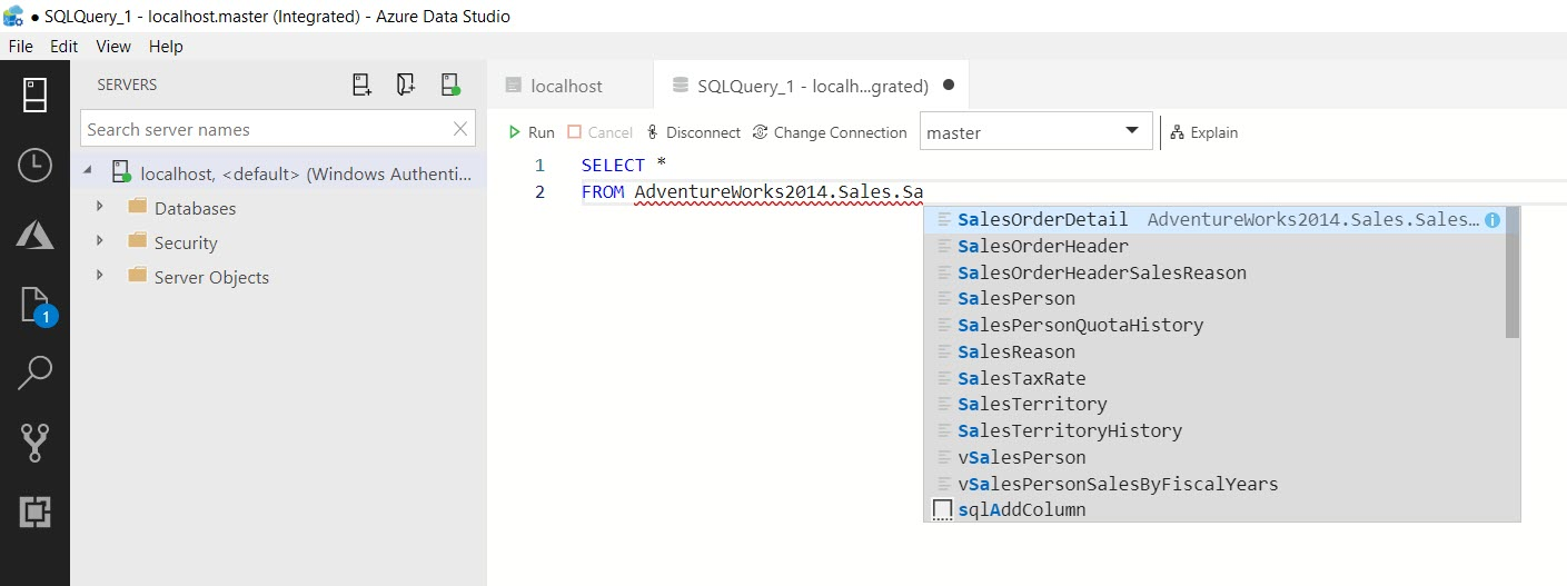 SQL SERVER - Getting Started with Azure Data Studio azuredatastudio11