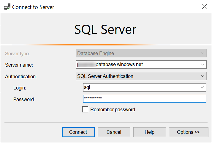 SQL Azure - Add IP Address to Firewall azureipaddress1