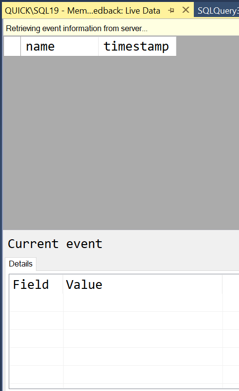 SQL SERVER - Extended Event to Capture Memory Grant Feedback capturememory12