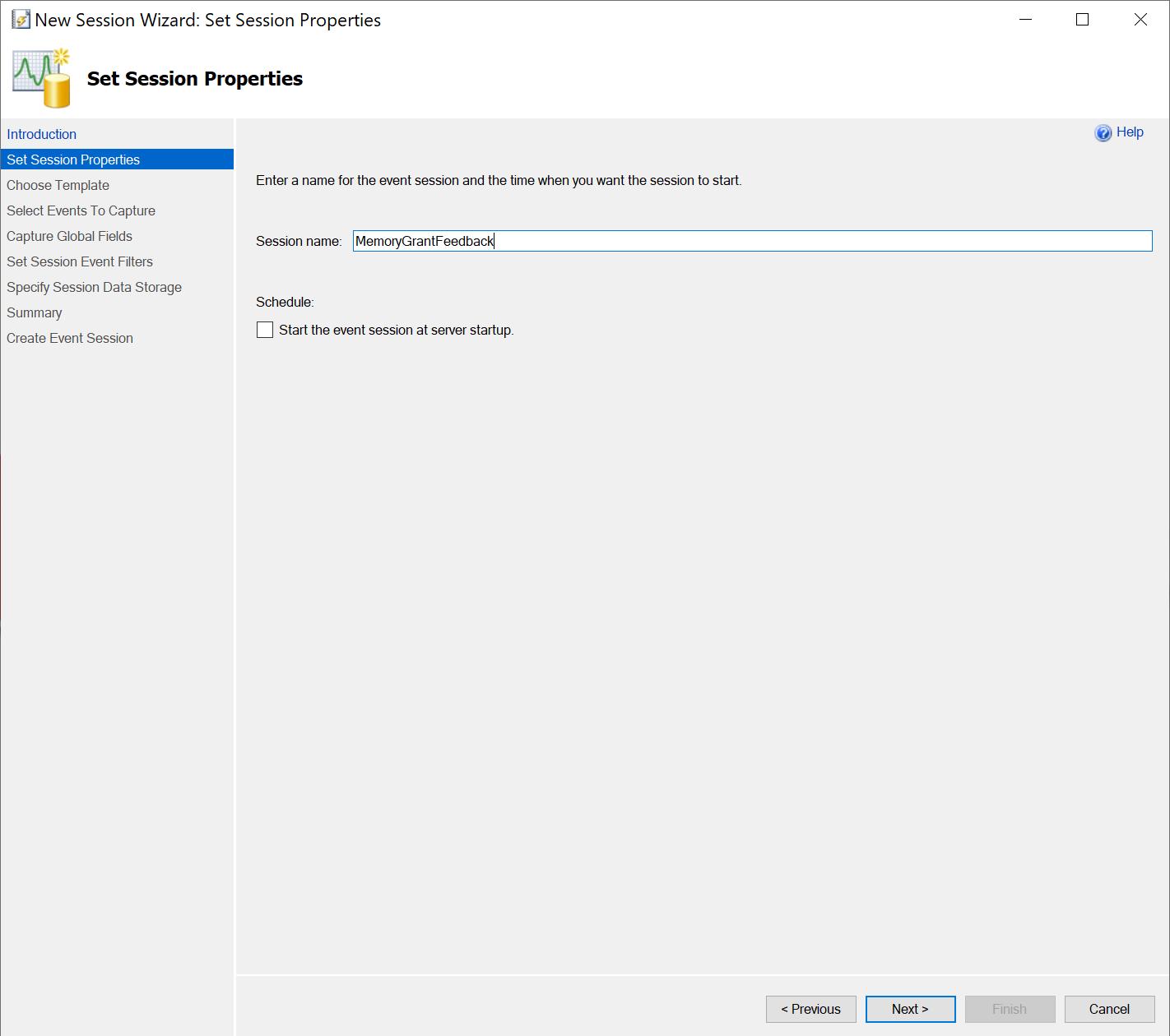 SQL SERVER - Extended Event to Capture Memory Grant Feedback capturememory3
