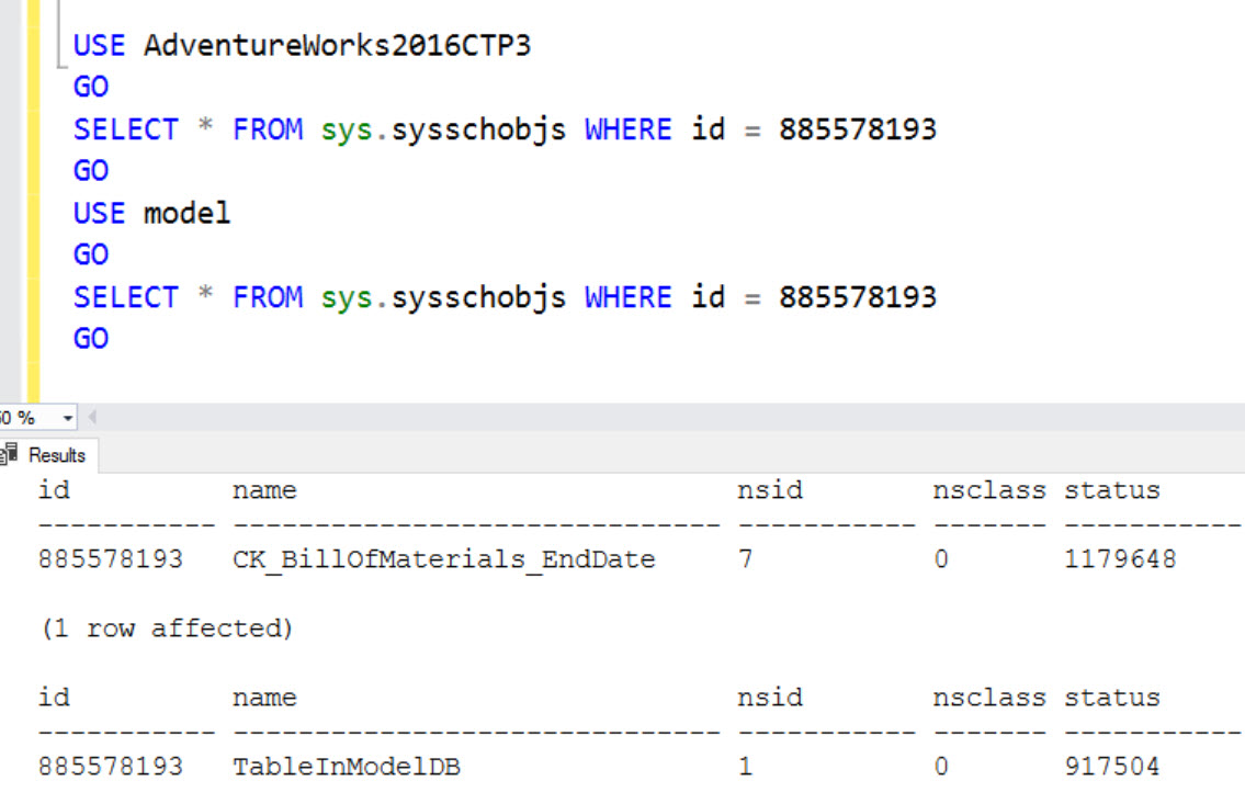 SQL SERVER - DBCC CLONEDATABASE Error: Cannot Insert Duplicate Key Row In Object 'sys.sysschobjs' With Unique Index 'clst'. clone-err1-01