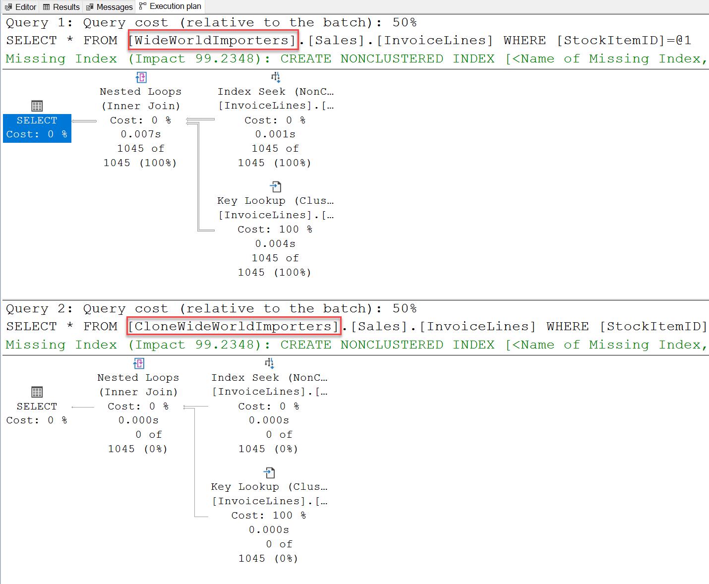 SQL SERVER - Clone Database Using DBCC CLONEDATABASE clonedatabase3
