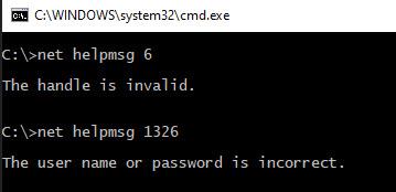 SQL SERVER - LogonUserExEx Fails for User & GetToken - Logging on as the CNO Failed With Error 1326 clu-ag-err-02