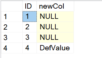 SQL SERVER - Adding Default Value to Existing Table default-value3
