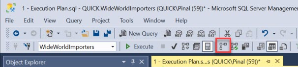 SQL SERVER - 3 Different Ways to Explore Actual Execution Plans executionplan1