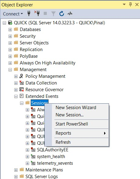 Capture Query Plans Using Extended Events and Traces - Analyzing SQL Server Query Plans - Part 1 extended-event