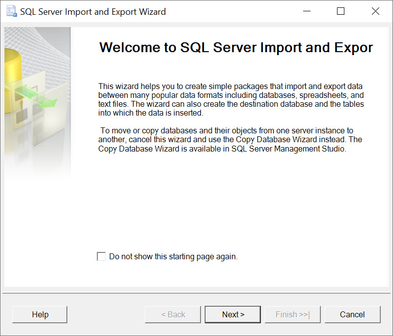 SQL SERVER - Import Data from Excel importexcel2