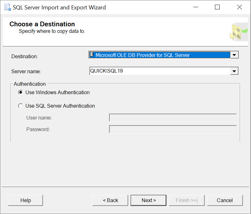 SQL SERVER - Import Data from Excel importexcel5