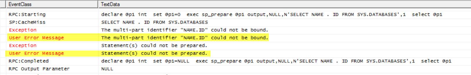 SQL SERVER - FIX: Msg 8180 - Statement(s) Could not be Prepared. Deferred Prepare Could not be Completed linked-stmt-prep-02