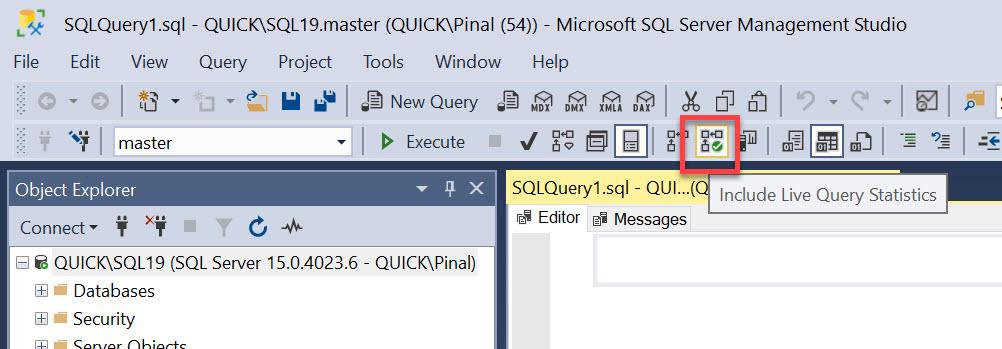 SQL SERVER - Capturing Execution Plan for Canceled Query livequery2