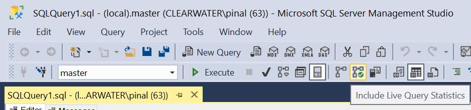 SQL SERVER - Live Query Statistics - SQL in Sixty Seconds #104 livequerystats2