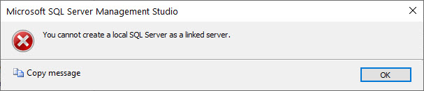 SQL SERVER - Linked Server Error - Msg 3910 - Transaction Context In Use By Another Session local-linked-srv-02