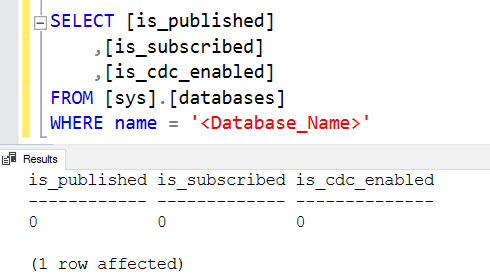 SQL SERVER - Error 9002: The Transaction Log for Database 'SQLAuthority' is Full Due to 'REPLICATION' log-reuse-repl-01