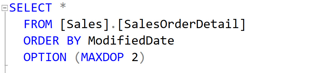3 Ways to Configure MAXDOP - SQL in Sixty Seconds #166 maxdopimage3