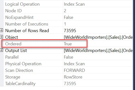 SQL SERVER - Group By Orders Data by Columns Ascending ordered1