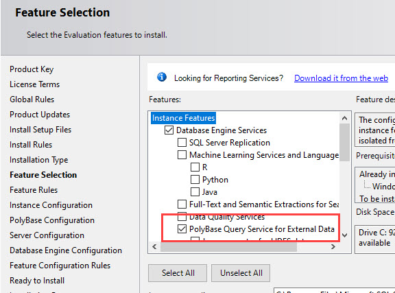 SQL SERVER - PolyBase Error Msg 46530 - External Data Sources Are Not Supported With Type GENERIC polybase-err-02