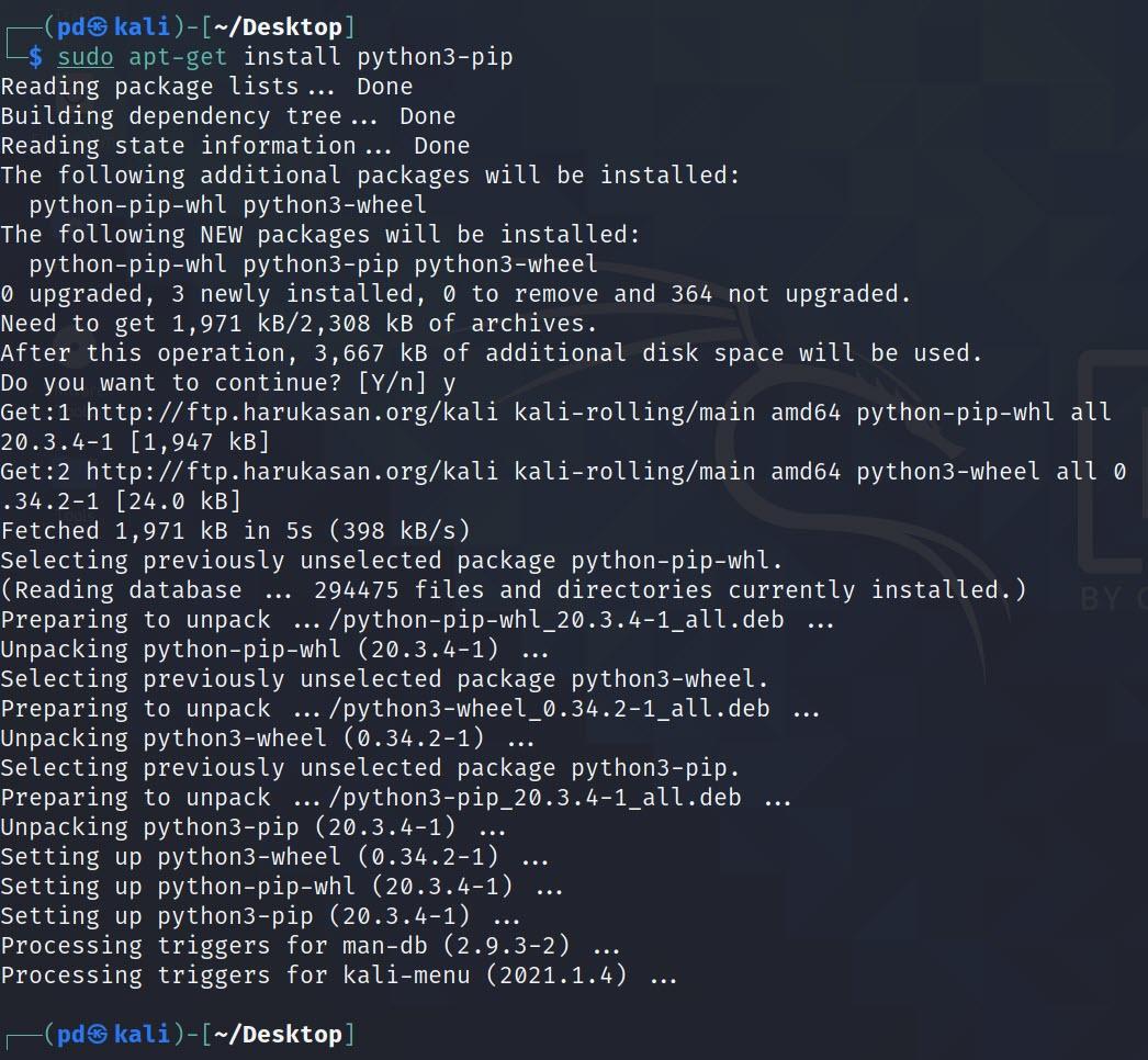 Install Python3 on Linux python3