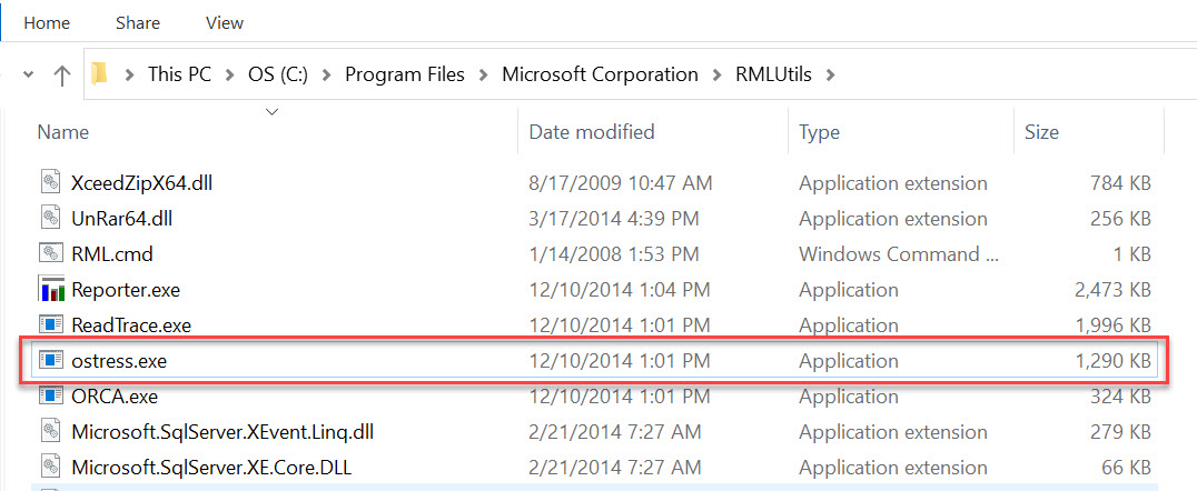 SQL SERVER - Stress Testing with oStress - Load Testing rml7