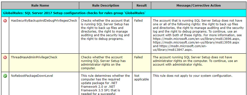 SQL SERVER - Install Error - The Account Running SQL Server Setup Does Not Have Administrator Rights On the Computer. To Continue, Use an Account With Administrator Rights setup-admin-err-02
