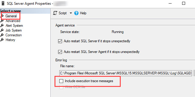 SQL SERVER - Enable Additional Logging for SQL Server Agent sqlagt-log-01