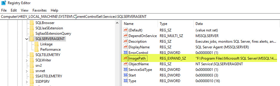 SQL SERVER - Event ID 7000 - The System Cannot Find the File Specified sqlagt-path-err-03