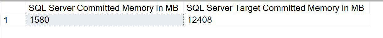 SQL SERVER - 3 Queries to Detect Memory Issues sqlmemory3