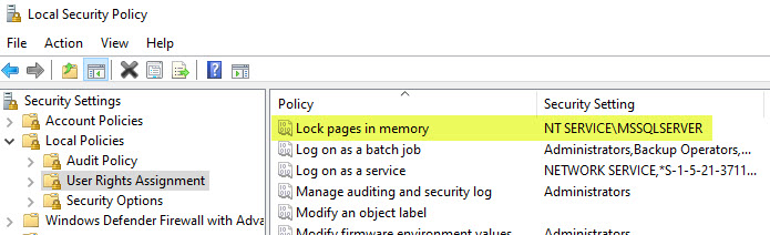 SQL SERVER 2019 - How to Enable Lock Pages in Memory LPIM? sscm-lpim-02
