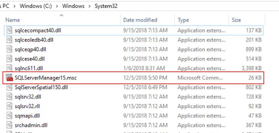 SQL SERVER - SQL Server Configuration Manager Missing from Start Menu sscm-miss-01