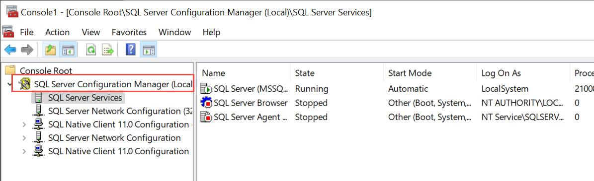SQL SERVER - SQL Server Configuration Manager Missing from Start