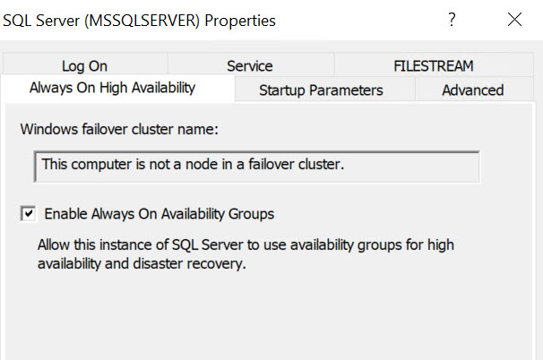 SQL SERVER - Availability Group Seen in SSMS but missing in Cluster Manager. What's Wrong? ssms-clus-type-missing-02